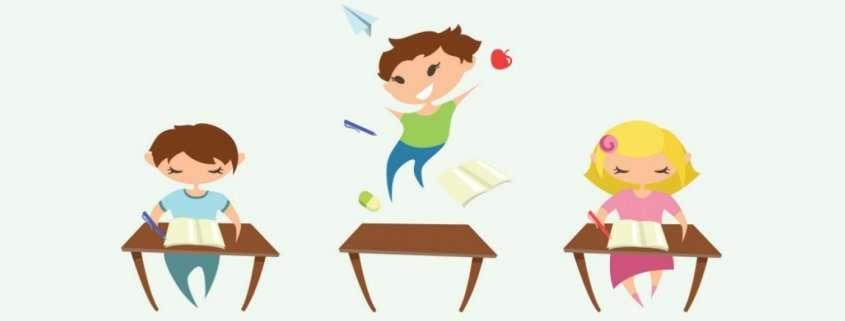 ADHD cartoon drawing