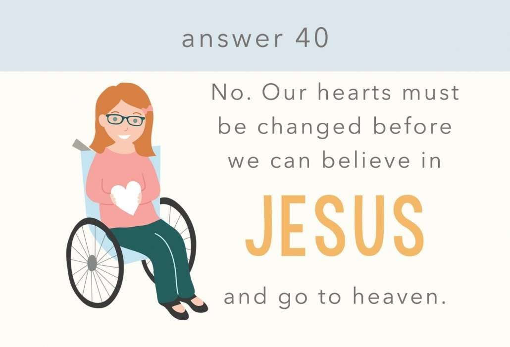 catechism answer 40