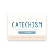 cover of catechism flashcards 1-50