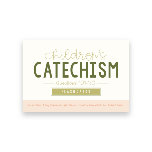 cover of catechism flashcards 101-150