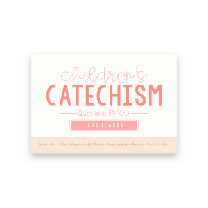 cover of catechism flashcards 51-100