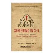 Suffering in 3D book cover